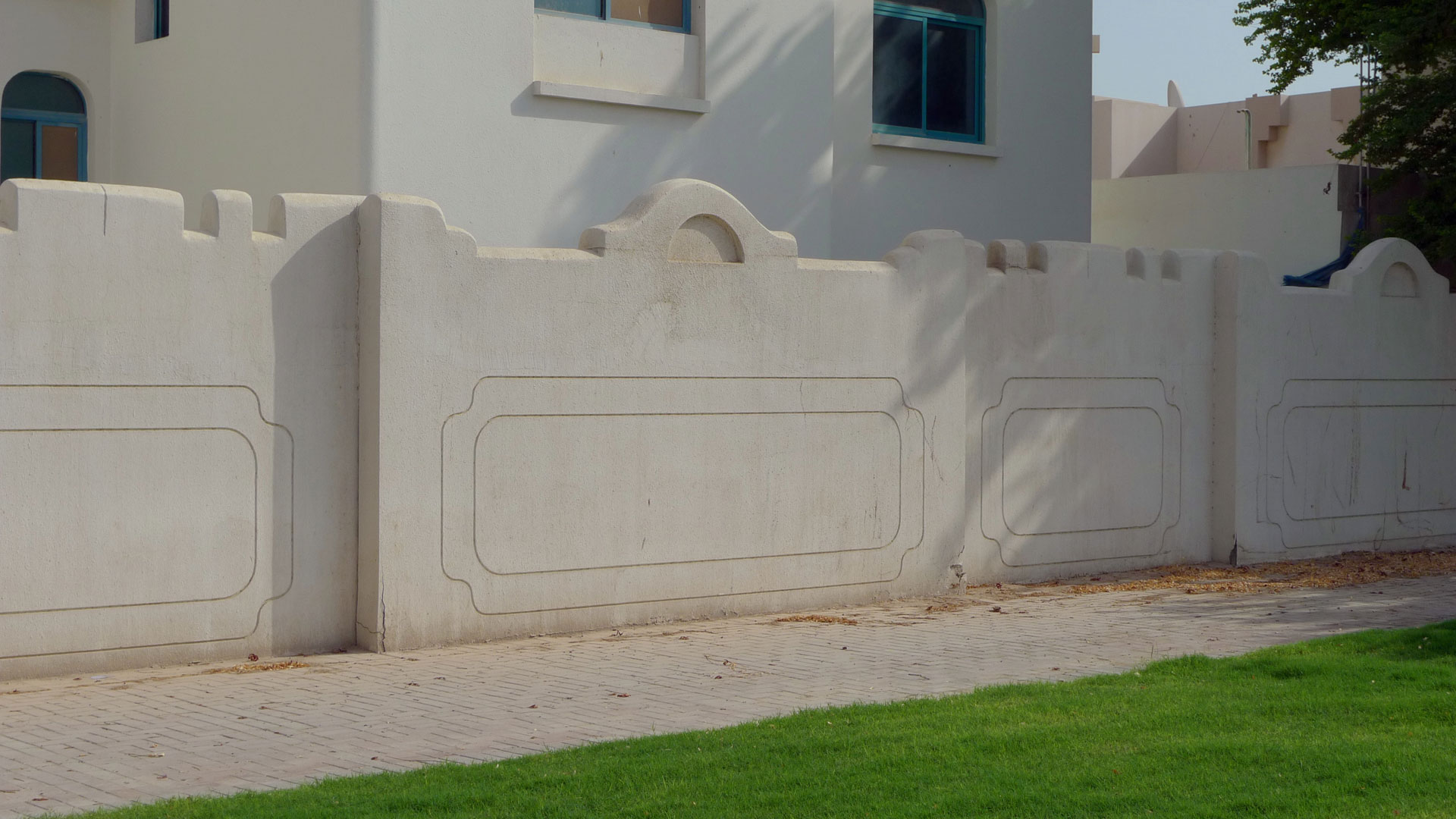 Bamboo Boundary Wall Design : Boundary walls august