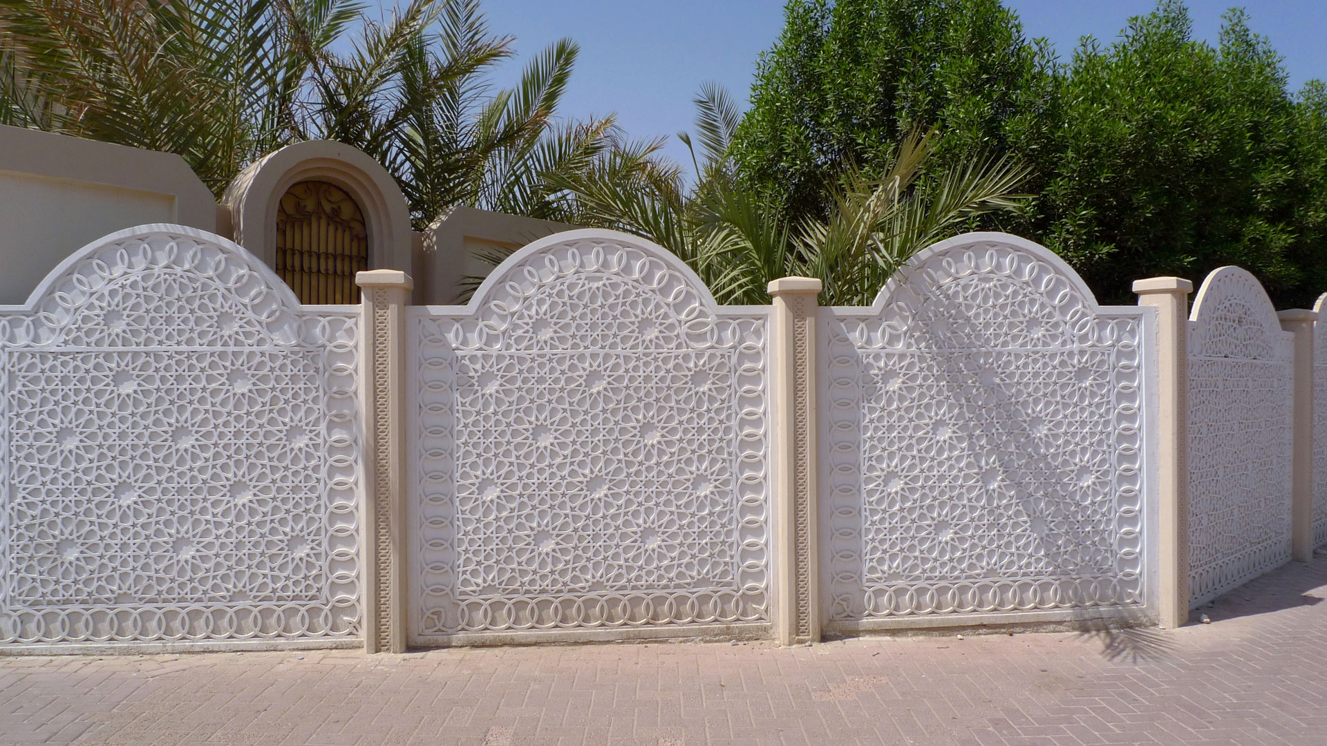 Simple Boundary Wall Design : Boundary wall designs photos joy studio design gallery