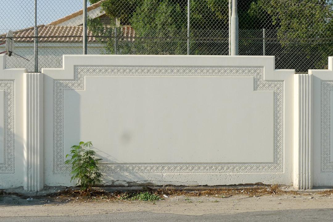 Park Boundary Wall Design : Precast boundary wall of jasmine village